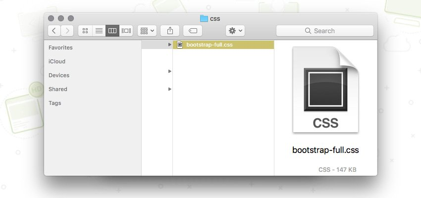 bootstrap styles