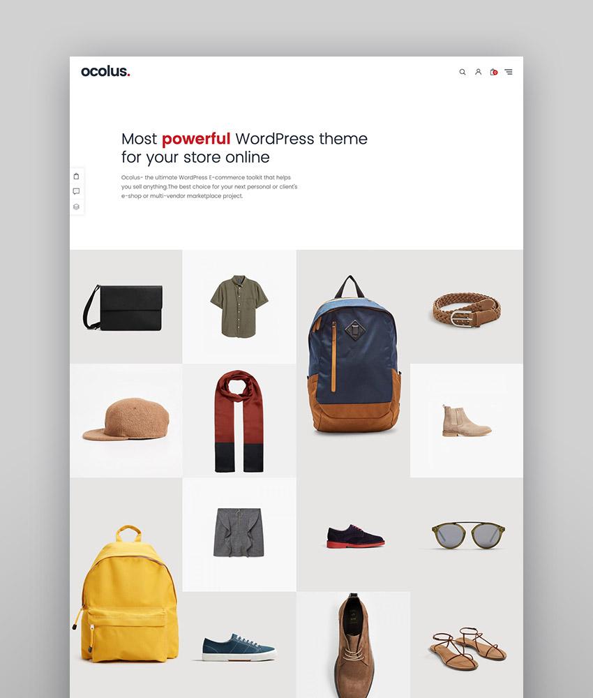 Ocolus - Multi-purposes WooCommerce Theme