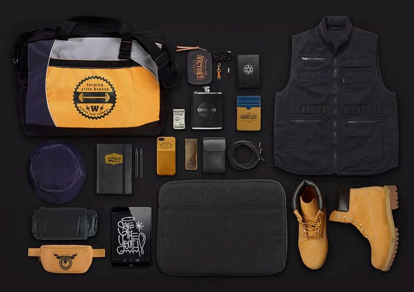 Apparel Lifestyle Essentials Mockup Creator