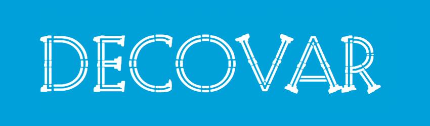 Decovar custom font variant