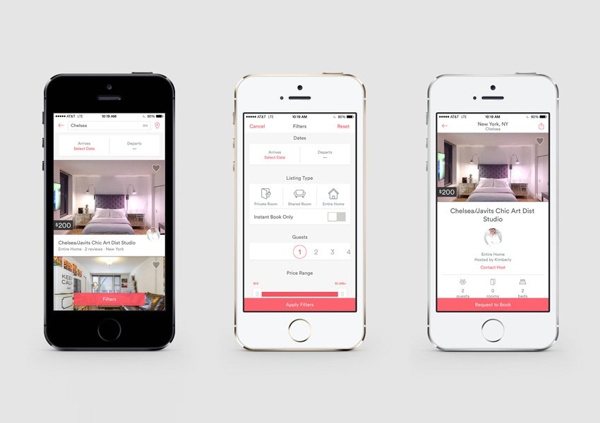 AirBnB for iOS