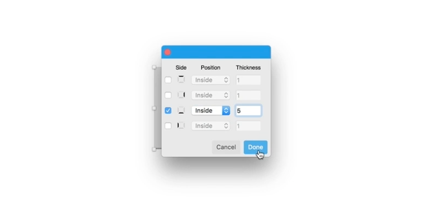 single border sketch plugin on github