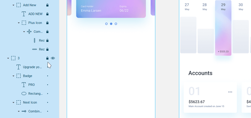 locking multiple layers in one go