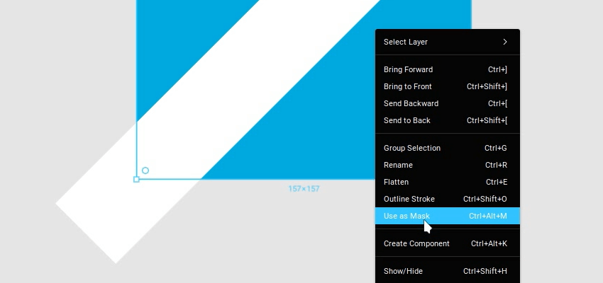 Create Masks Quickly in figma