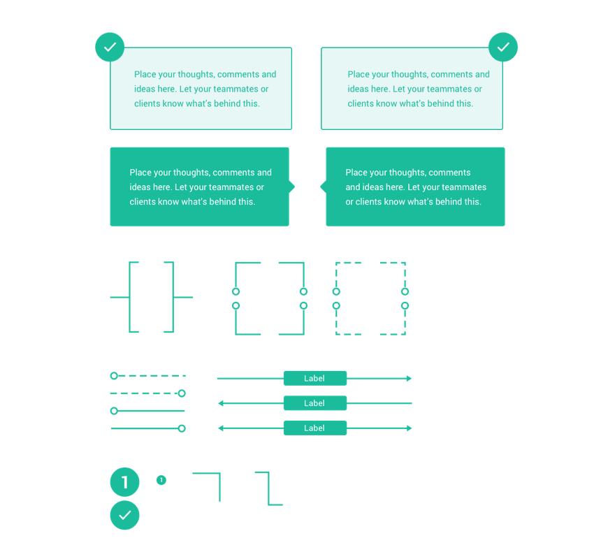 Wirelands markup elements