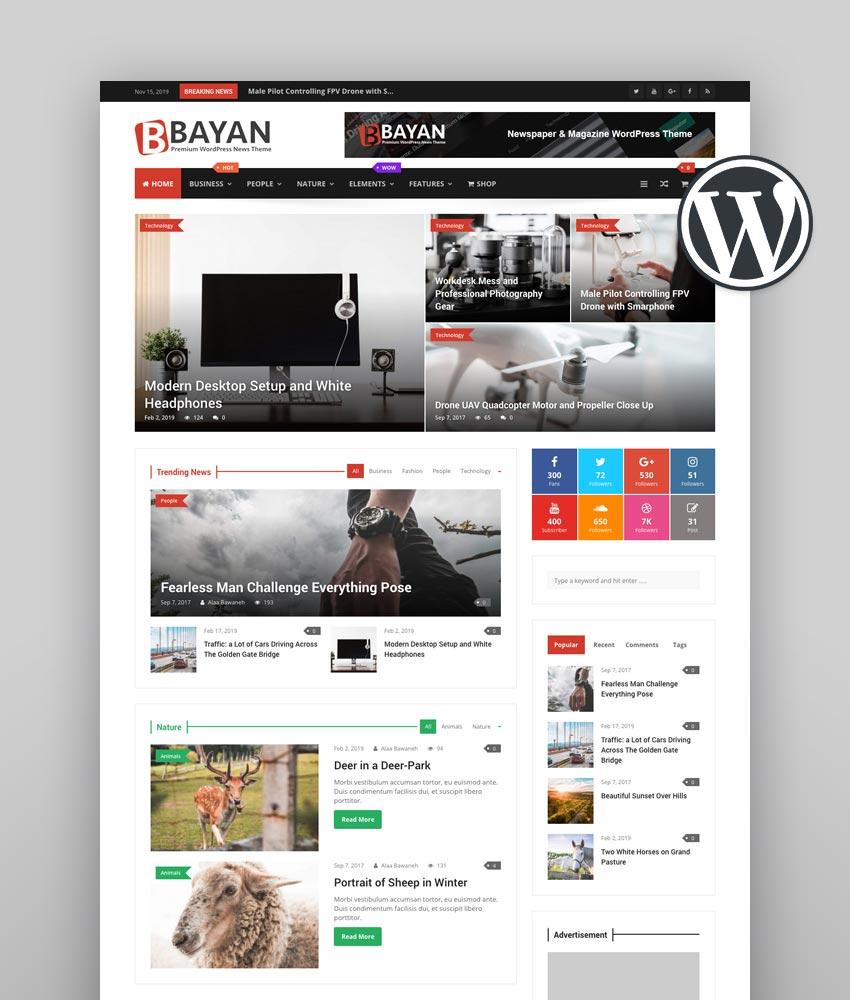 Bayan - Newspaper Theme