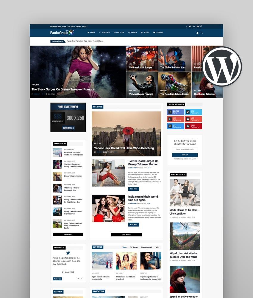 PantoGraph WordPress News