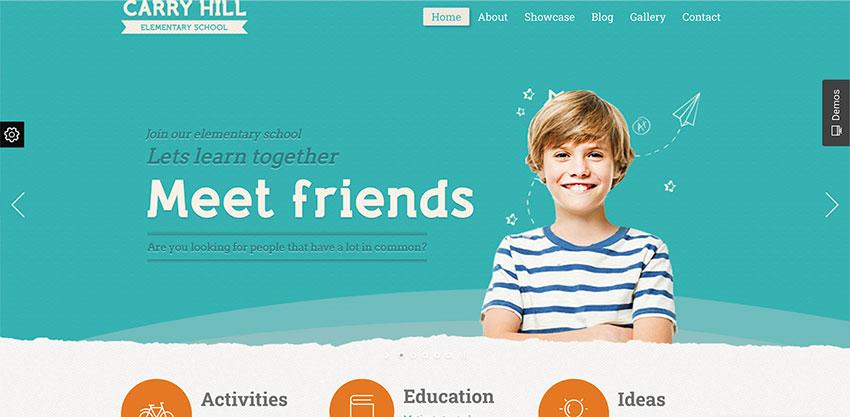 Carry Hill School - Education WordPress Theme