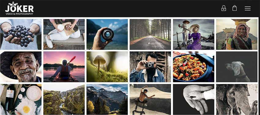 Joker - Photo  Video Portfolio WordPress Theme for Photographers