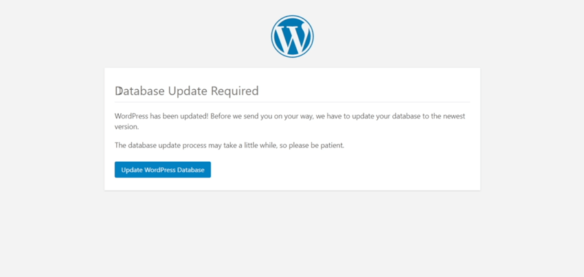 Refresh WordPress and Update Database