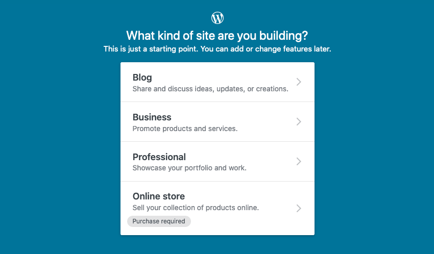 what kind of site are you building