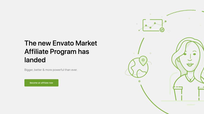Check the new Envato Affiliate Program