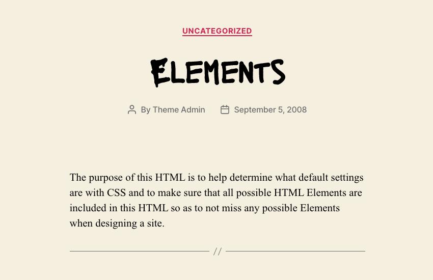 lacquer google font on wordpress theme