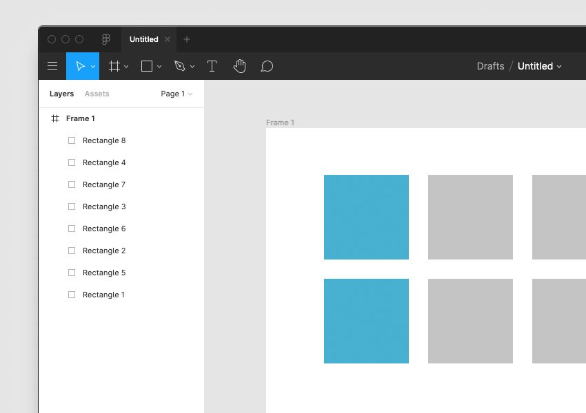 rectangles in figma