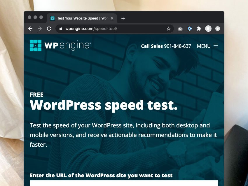 wp engines speed test