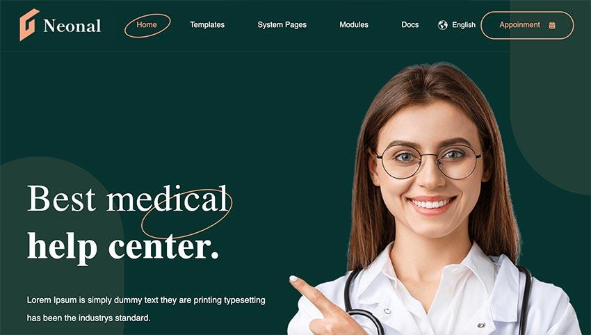 Neonal - Medical Service HubSpot Theme