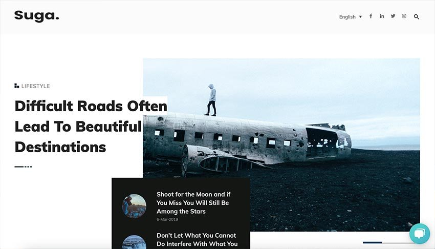 Takei –Blog and Magazine HubSpot Theme