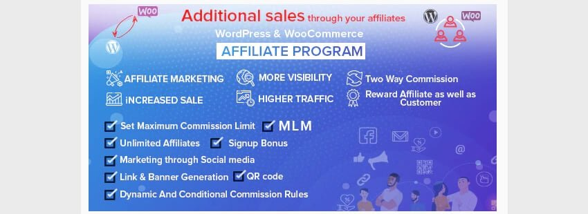 Affiliate Program - Plugin de WooCommerce y WordPress para afiliados