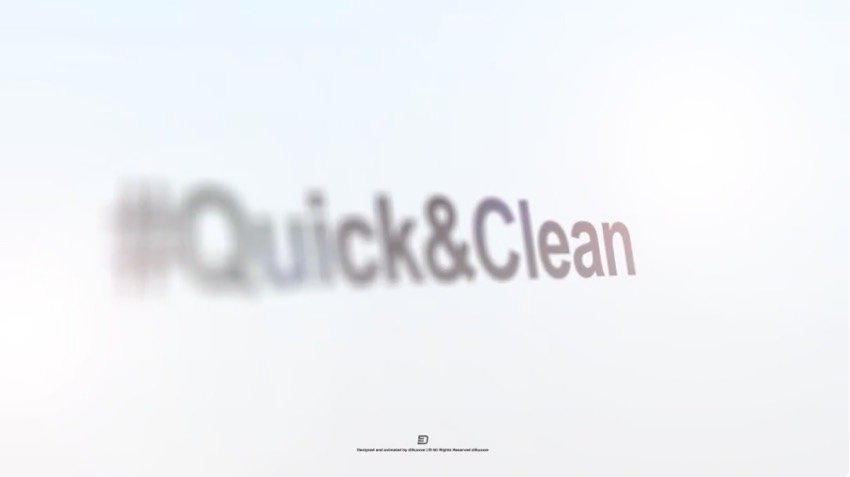 Quick and Clean Rotation Logo Reveal