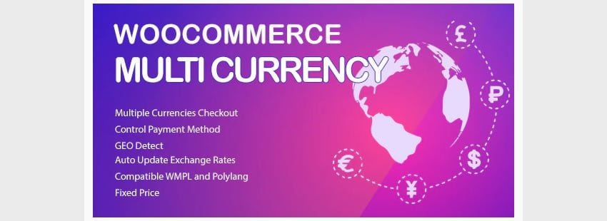 WooCommerce Multi Currency—Currency Switcher