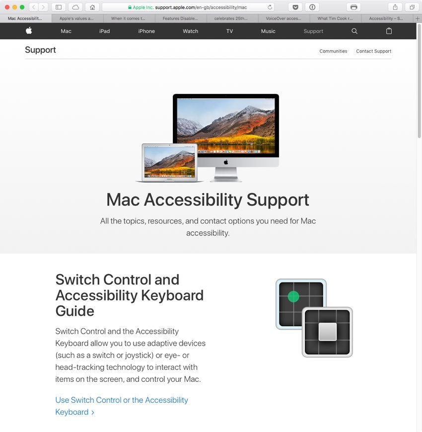 Apple has lots of support materials on its website