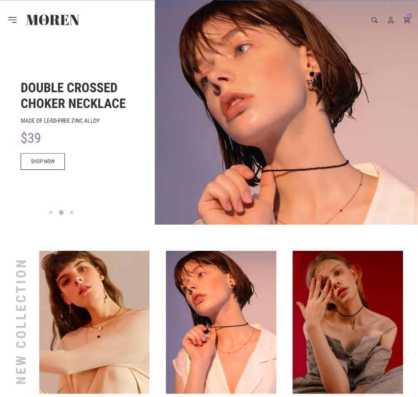 Moren—Fashion WooCommerce Theme