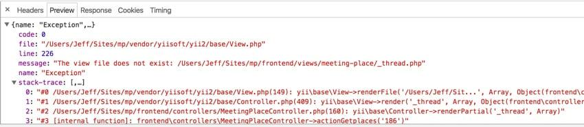 Startups Ajax - Google Chrome Browser Preview Tab