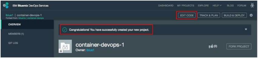IBM BlueMix and DevOps - Your copy of container-devops