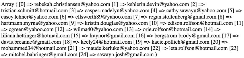 Using Faker - 25 Free Email Addresses