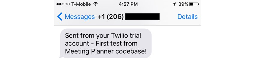 Building Startups Text and SMS - My First Twilio Text