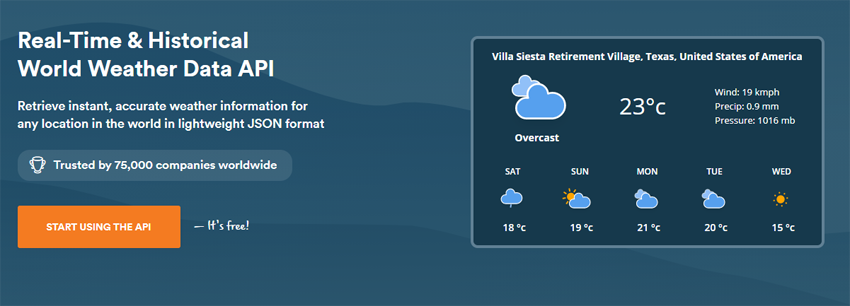 weatherstack API
