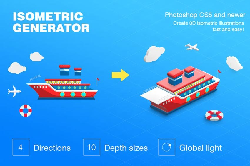 3D Generator from Elements