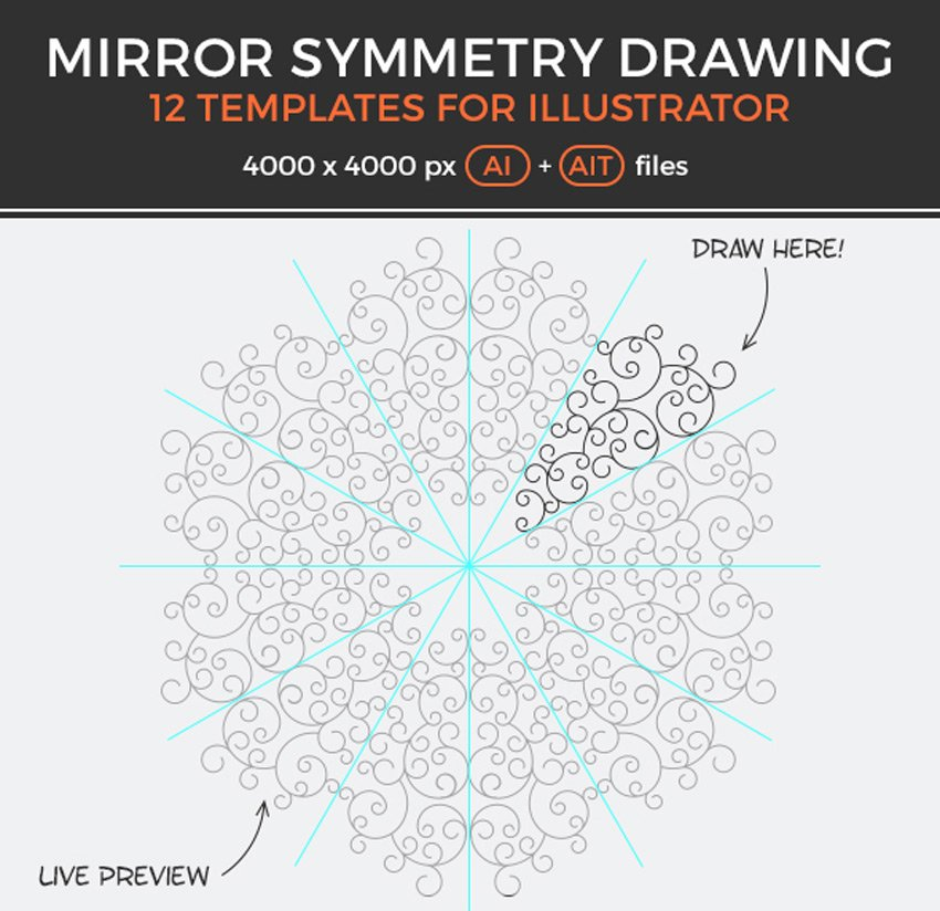 Mirror Symmetry Drawing