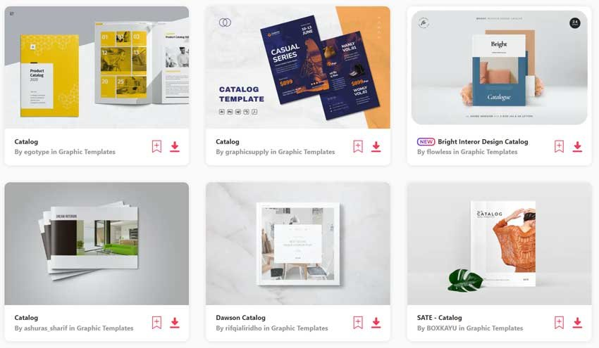 Thousands of Brochure and InDesign Catalog Templates available on Envato Elements