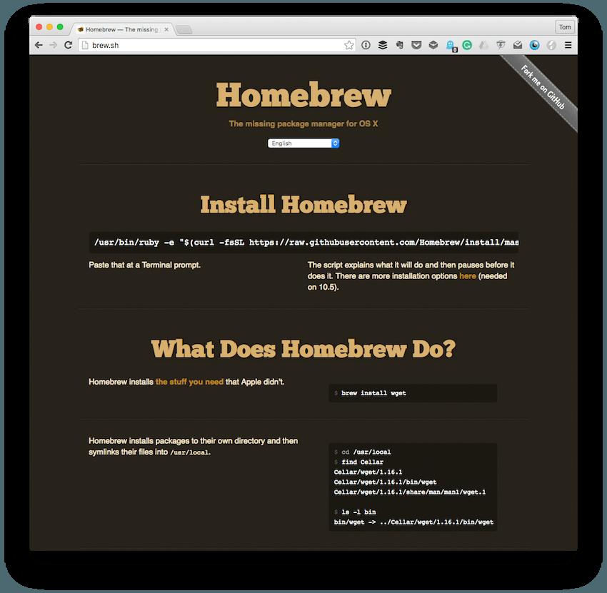 The Homebrew Homepage