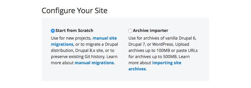 Configure Your Site