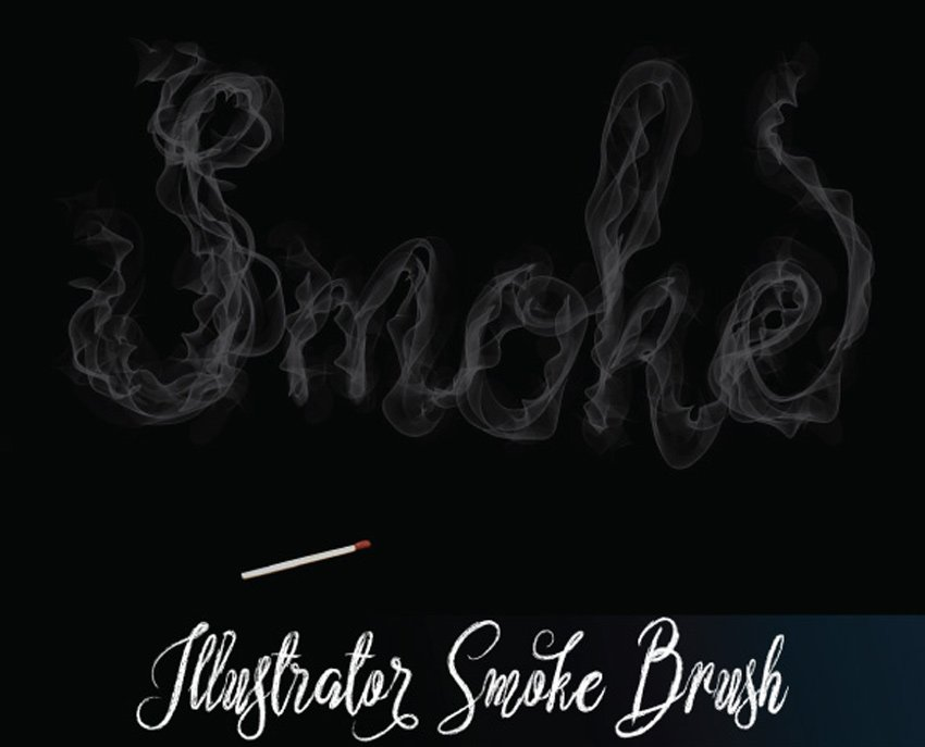Illustrator Smoke Brush