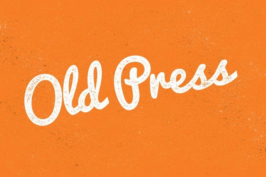 Create an Easy Worn Press Text Effect in Photoshop