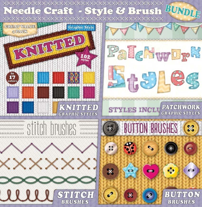 Needle Craft - Style  Brush Bundle