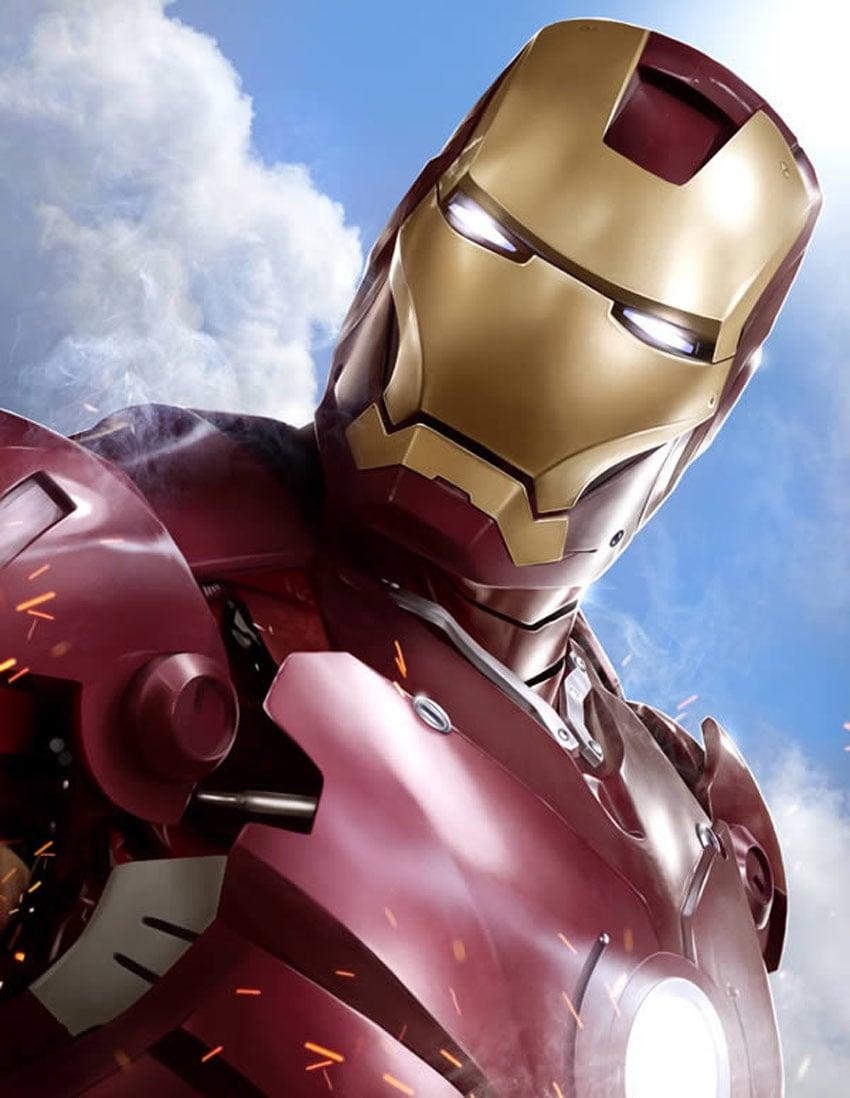 Iron Man Digital Painting Photoshop Tutorial
