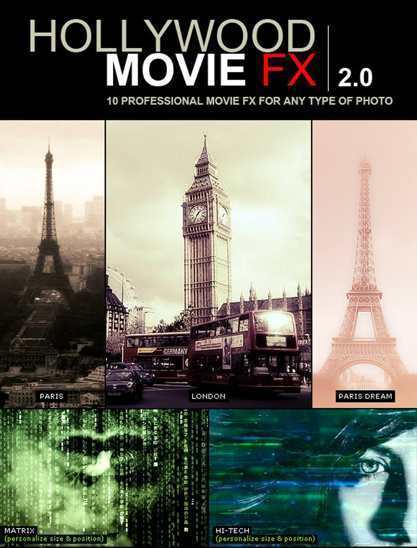 Hollywood Movie FX 20