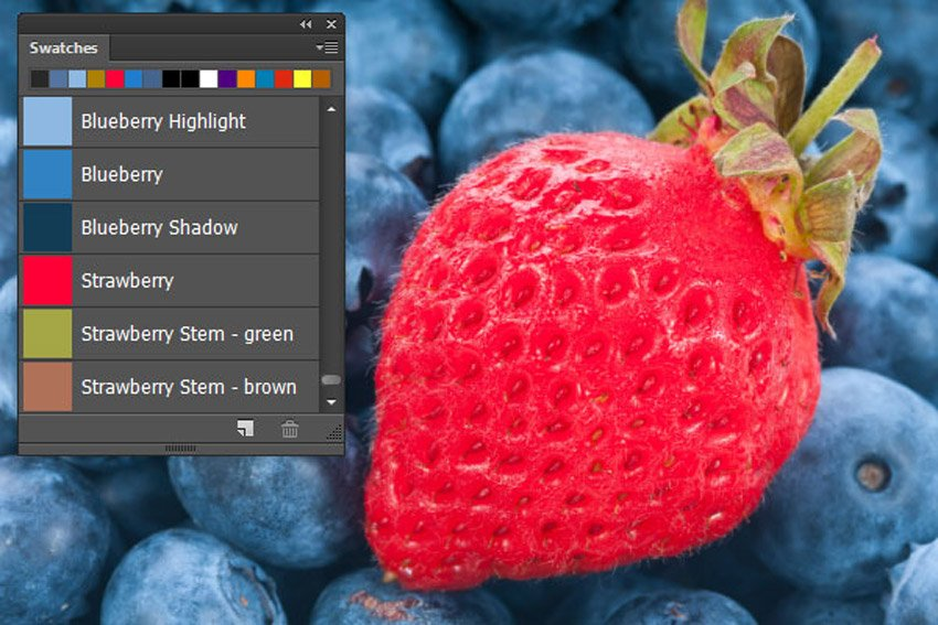 Color Swatches in Photoshop