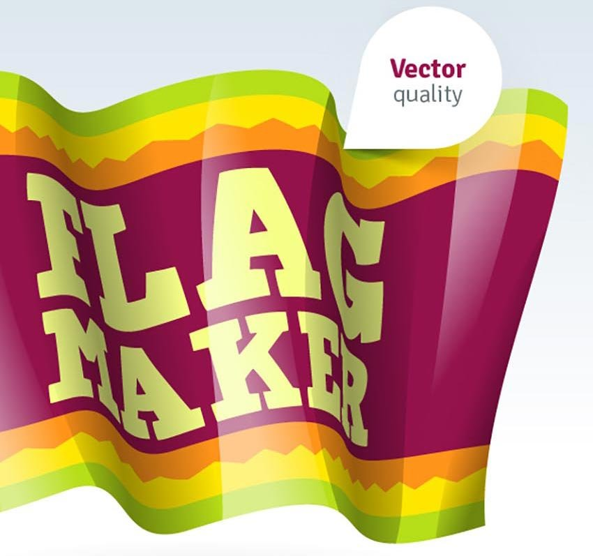 Vector Flag Maker - Illustrator Actions Pack