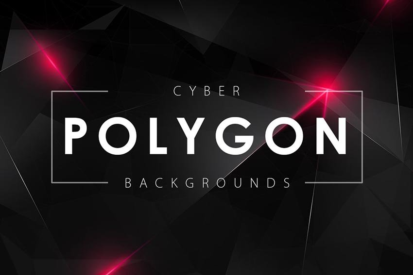 Cyber Polygon Backgrounds
