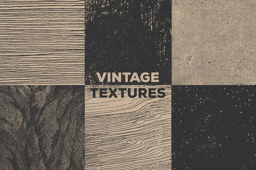 Vector Vintage Book Textures