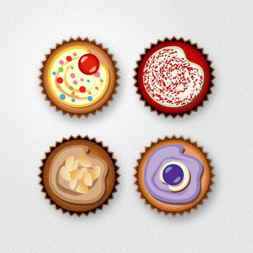 Cupcake Icon Tutorial Adobe Illustrator