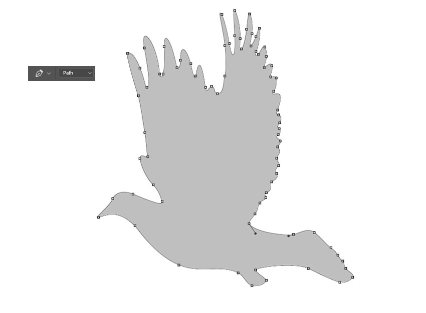 Create a Silhouette with the Pen Tool