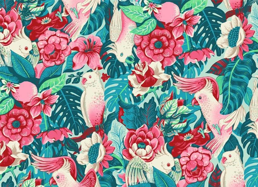 Florida Tapestry art by Lidija Paradinovic Nagulov