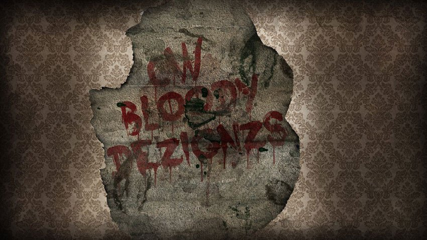 Bloody Text Effect by Colm White