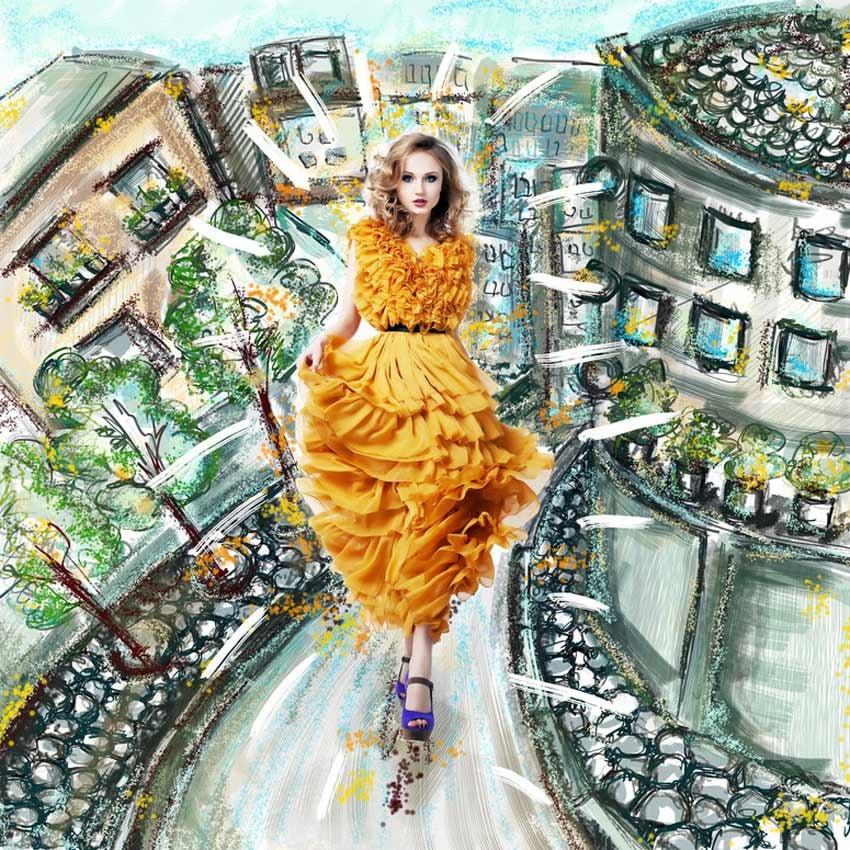 Colorful Fashion Design